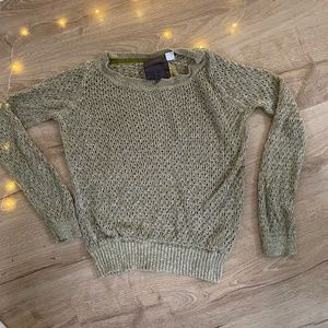 2 for $10 /  Guinevere Open Knit Sparkle Sweater